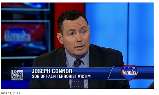 Joe Connor met with Sean Hannity Friday and was on the air with Lisa Benson on Father's Day