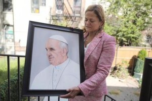 New York City's number 2, Melissa Mark Viverito advocates to the Pope for a convicted terrorist and endorses Hillary Clinton