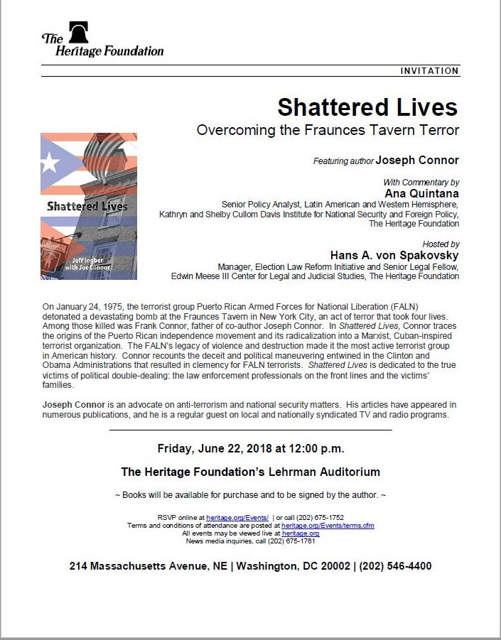 the heritage foundation presents shattered lives 12 00 noon friday rh thenewfounders org cfmeu terms and conditions