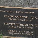 Connor Schlag plaque