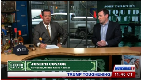 Crazy Things Happening: Joe with Piscopo, Tabacco and a Liquid lunch